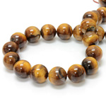 Gemstone Bead - Smooth Round 14MM TIGEREYE