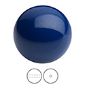 Preciosa Crystal Nacre Gem Bead - Round 05MM NAVY