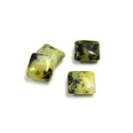 Gemstone Cabochon - Square 08x8MM YELLOW TURQUOISE