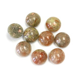 Gemstone Cabochon - Round 09MM CHINESE UNIKITE