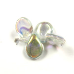 Preciosa Czech Pressed Glass Bead - Pip 5x7MM OCEAN ON CRYSTAL