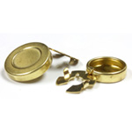 Brass Button Covers