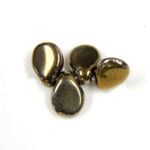 Preciosa Czech Pressed Glass Bead - Pip 5x7MM ANTIQUE BRONZE COAT