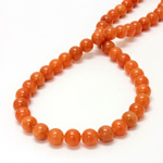 Gemstone Bead - Smooth Round 08MM AVENTURINE-PINK