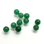 Gemstone 1-Hole Ball 06MM GREEN AVENTURINE