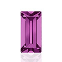 Swarovski Crystal Point Back Fancy Stone - Baguette 4x2MM FUCHSIA
