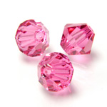 Preciosa Crystal Bead - Bicone 03MM ROSE