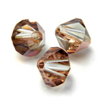 Preciosa Crystal Bead - Bicone 03MM CAPRI GOLD