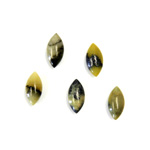 Gemstone Cabochon - Navette 10x5MM YELLOW TURQUOISE