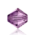 Swarovski Crystal Bead - Bicone 06MM LIGHT AMETHYST