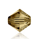 Swarovski Crystal Bead - Bicone 06MM LIGHT COLORADO TOPAZ