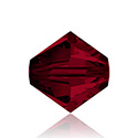 Swarovski Crystal Bead - Bicone 04MM SIAM RUBY