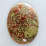Gemstone Cabochon - Oval 40x30MM UNIKITE