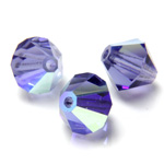 Preciosa Crystal Bead - Bicone 03MM TANZANITE AB