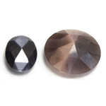 Rauten Rose Cut Faceted Cabochons