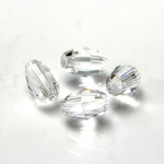 Preciosa Crystal Bead - Olive 06x4MM CRYSTAL