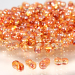 Preciosa Czech Glass Seed Bead - Farfalle 03.2x6.5MM CRYSTAL/VENUS 0005p