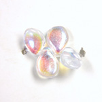 Preciosa Czech Pressed Glass Bead - Pip 5x7MM CRYSTAL AB