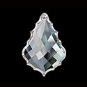 Asfour Crystal Chandelier Parts - Pendalogue Diamond French Cut - 35x50mm (2 Inch) CRYSTAL