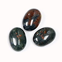 Gemstone Cabochon - Oval 18x13MM BLOODSTONE