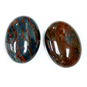 Gemstone Cabochon - Oval 25x18MM BLOODSTONE