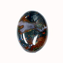 Gemstone Cabochon - Oval 30x22MM BLOODSTONE