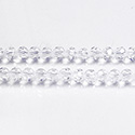 Chinese Cut Crystal Bead 32 Facet - Round 04MM CRYSTAL