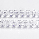 Chinese Cut Crystal Bead 32 Facet - Round 06MM CRYSTAL