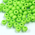Preciosa Czech Glass Seed Bead - Round 06/0 Terra Intensive LIGHT GREEN 16A54