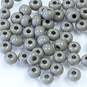 Preciosa Czech Glass Seed Bead - Round 06/0 GREY 43020