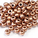 Preciosa Czech Glass Seed Bead - Round 06/0 MATTE COPPER 01770