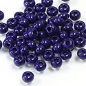 Preciosa Czech Glass Seed Bead - Round 06/0 NAVY OPAQUE 33070