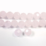 Chinese Cut Crystal Bead 32 Facet - Round 06MM OPAL PINK