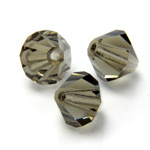Preciosa Crystal Bead - Bicone 03MM BLACK DIAMOND