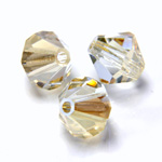 Preciosa Crystal Bead - Bicone 03MM BLONDE FLARE