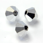 Preciosa Crystal Bead - Bicone 03MM FULL COAT COMET ARGENT LIGHT
