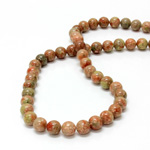 Gemstone Bead - Smooth Round 08MM UNIKITE