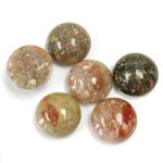 Gemstone Cabochon - Round 12MM CHINESE UNIKITE