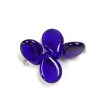Preciosa Czech Pressed Glass Bead - Pip 5x7MM COBALT