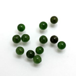 Gemstone 1-Hole Ball 05MM TAIWAN JADE