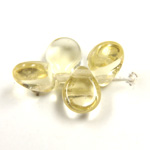 Preciosa Czech Pressed Glass Bead - Pip 5x7MM LT TOPAZ