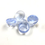 Preciosa Czech Pressed Glass Bead - Pip 5x7MM LT SAPPHIRE