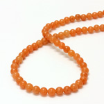 Gemstone Bead - Smooth Round 06MM AVENTURINE-PINK