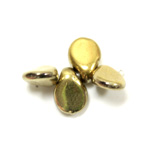 Preciosa Czech Pressed Glass Bead - Pip 5x7MM GOLD