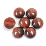 Gemstone Cabochon - Round 11MM TIGEREYE RED