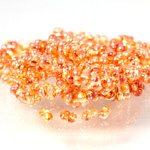 Preciosa Czech Glass Seed Bead - Farfalle 02x4MM CRYSTAL/VENUS 0005p